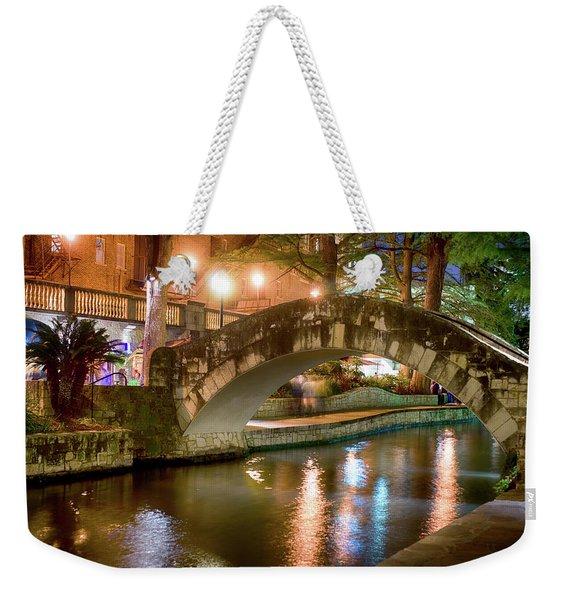 San Antonio River Walk V1 Weekender Tote Bag