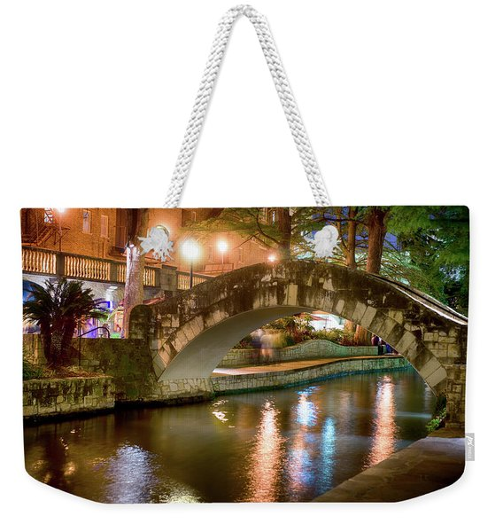 San Antonio River Walk V1 Weekender Tote Bag