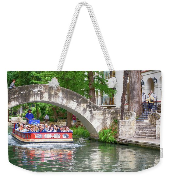 San Antonio River Walk V2 Weekender Tote Bag