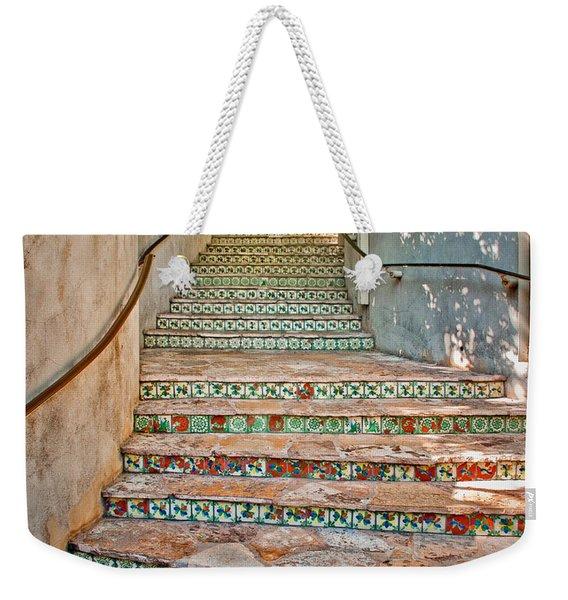 San Antonio Riverwalk Stairway Weekender Tote Bag