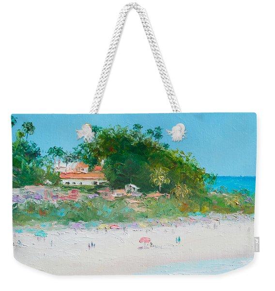 San Clemente Beach Art  Weekender Tote Bag