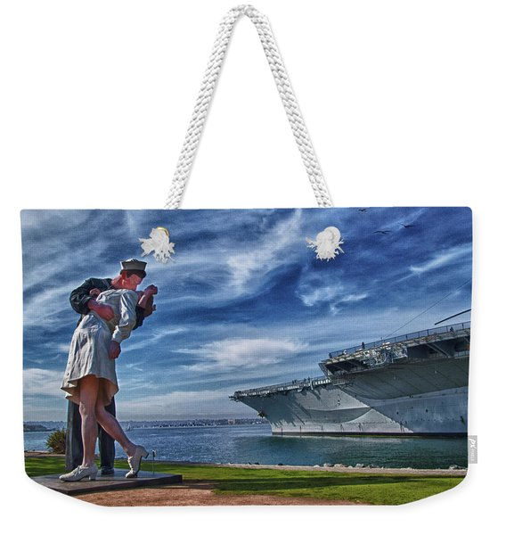 San Diego Sailor Weekender Tote Bag