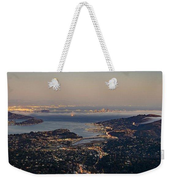 San Francisco Bay Area Weekender Tote Bag