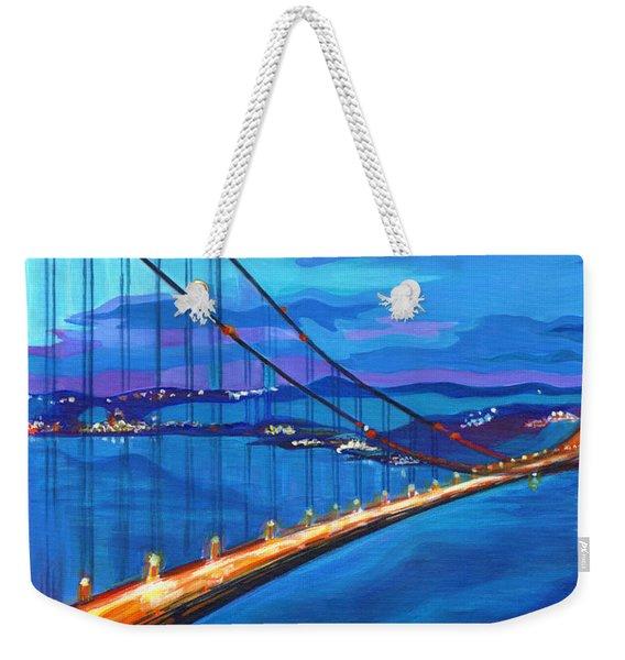 San Francisco Bay Blues  Weekender Tote Bag