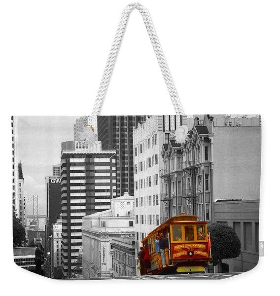San Francisco Cable Car - Highlight Photo Weekender Tote Bag