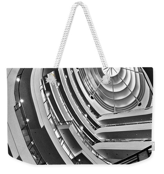 San Francisco - Nordstrom Department Store Architecture Weekender Tote Bag