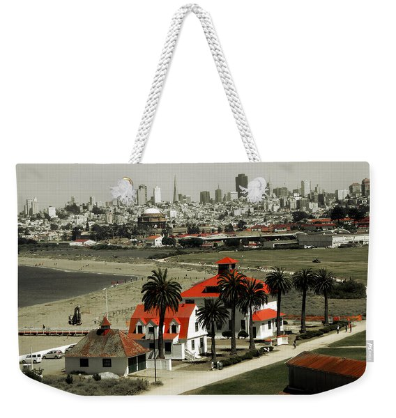 San Francisco Panorama 2015 Weekender Tote Bag