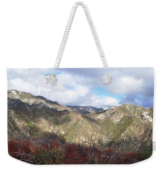 San Gabriel Mountains National Monument Weekender Tote Bag