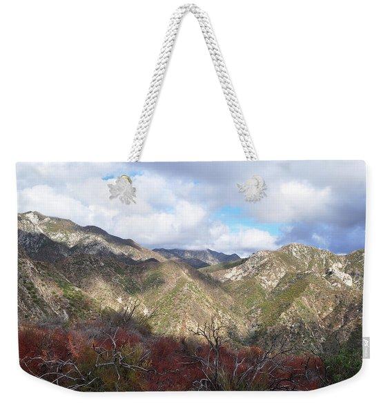 San Gabriel Mountains National Monument Weekender Tote Bag