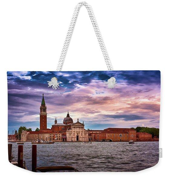San Giorgio Di Maggiore Church In Venice, Italy Weekender Tote Bag