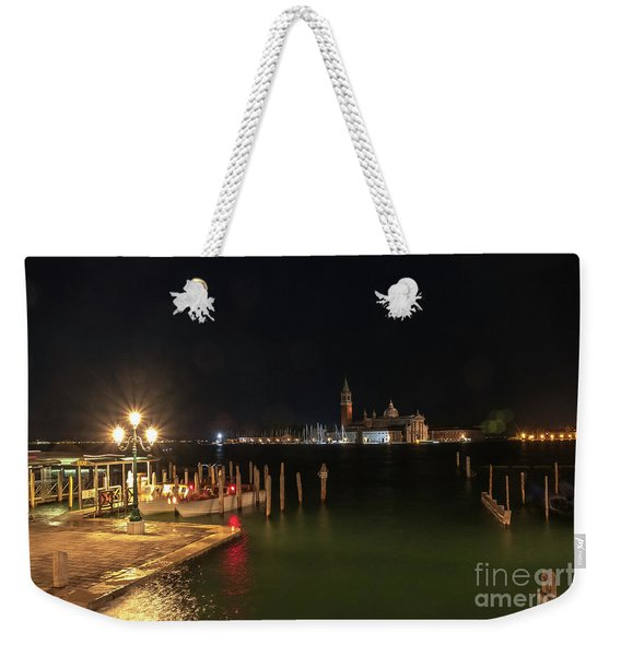 San Giorgio Maggiori At Night Weekender Tote Bag