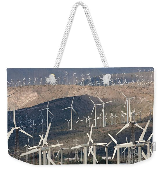 San Gorgonio Pass Wind Farm I Weekender Tote Bag