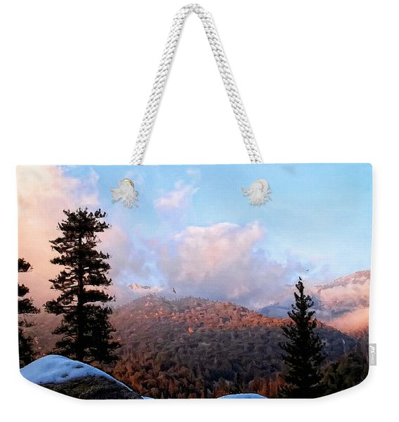 San Jacinto Mountains 2 - California Weekender Tote Bag