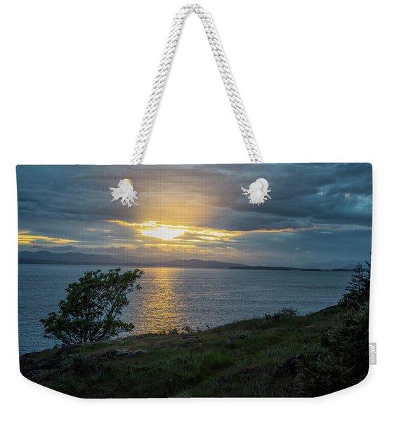 San Juan Island Sunset Weekender Tote Bag