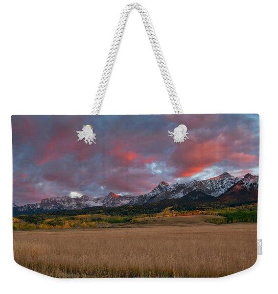San Juan Sunset Weekender Tote Bag