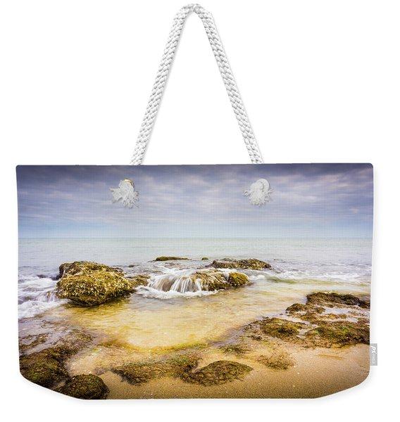 Sand And Rocks Weekender Tote Bag