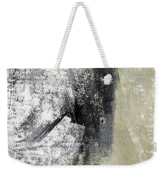 Sand And Steel- Abstract Art Weekender Tote Bag