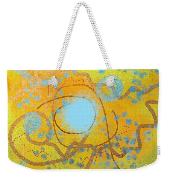 Sand And Water Weekender Tote Bag
