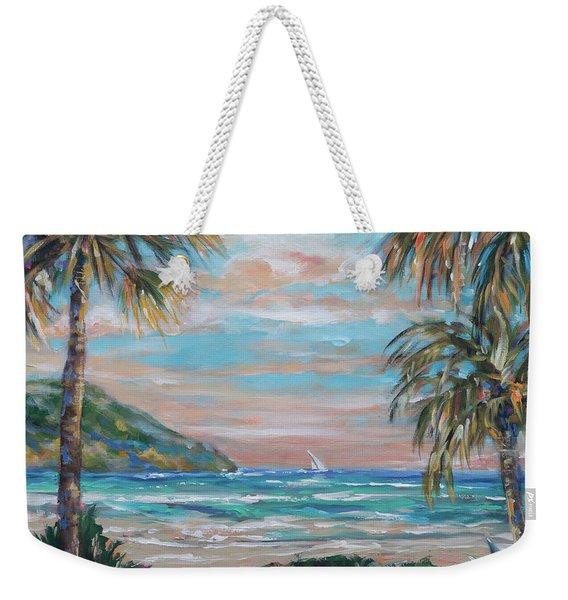 Sand Bank Bay Weekender Tote Bag