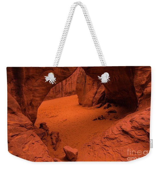 Sand Dune Arch - Arches National Park - Utah Weekender Tote Bag