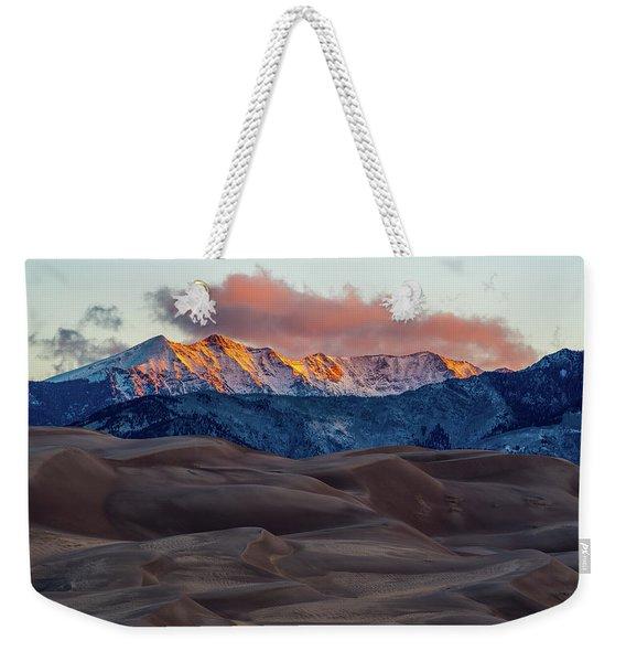Sand Dune Sunrise Weekender Tote Bag