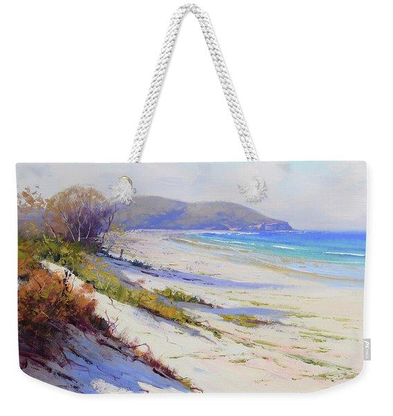 Sand Dunes Port Stephens Nsw Weekender Tote Bag