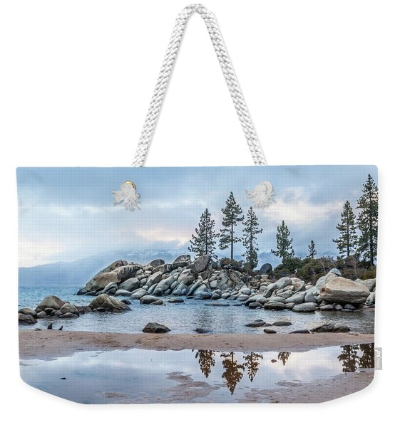 Sand Harbor Weekender Tote Bag