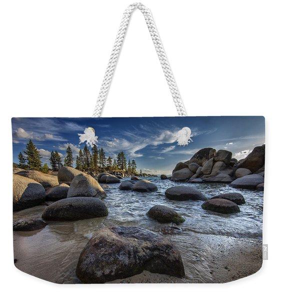 Sand Harbor II Weekender Tote Bag