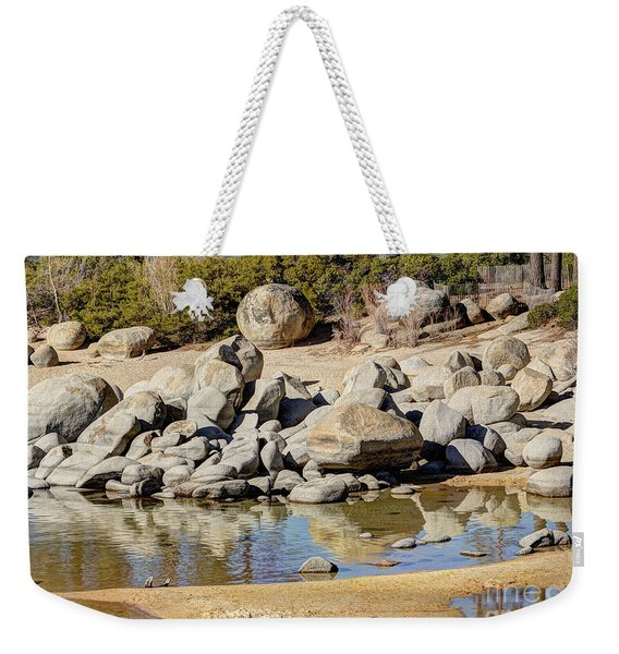 Sand Harbor Lake Tahoe Weekender Tote Bag