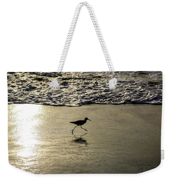 Sand Piper Dash Weekender Tote Bag