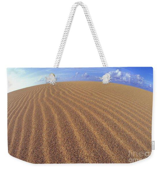 Sand Ridges Weekender Tote Bag