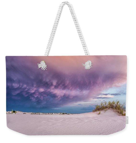 Sand Storm Weekender Tote Bag
