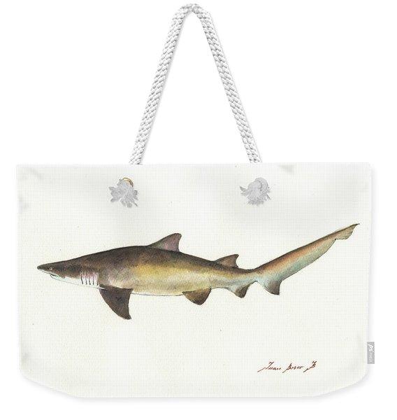 Sand Tiger Shark Weekender Tote Bag