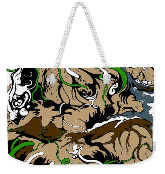 Sandbox Weekender Tote Bag