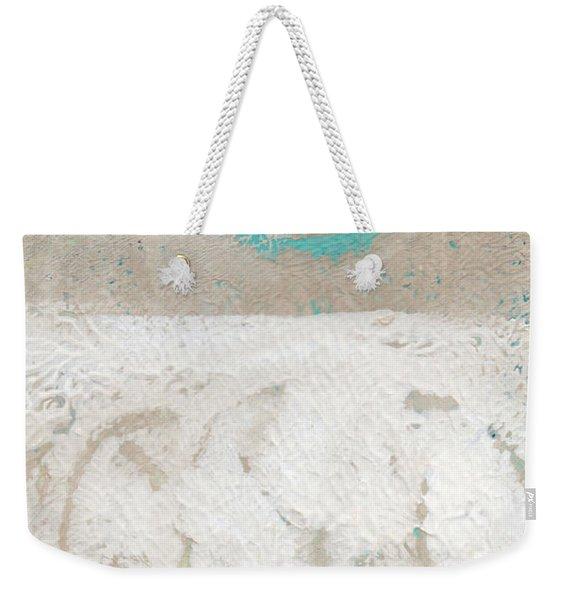 Sandcastles- Abstract Painting Weekender Tote Bag