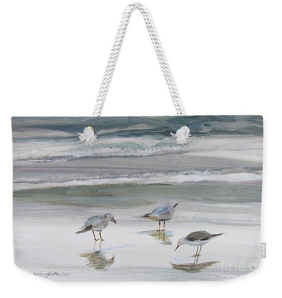 Sandpipers Weekender Tote Bag