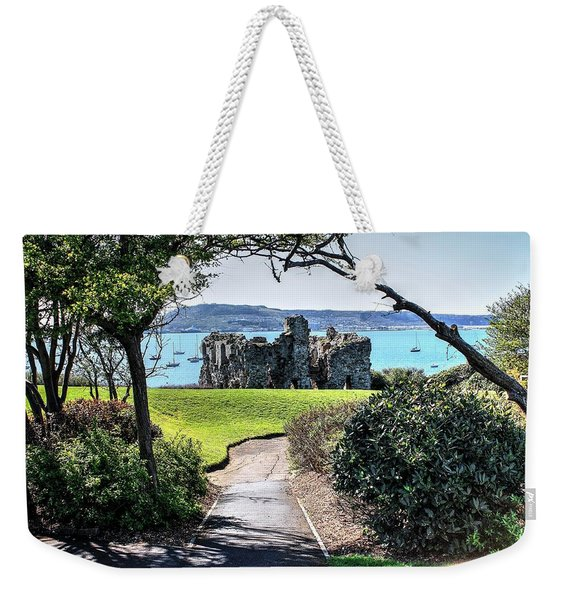 Sandsfoot Castle Weymouth Uk Weekender Tote Bag