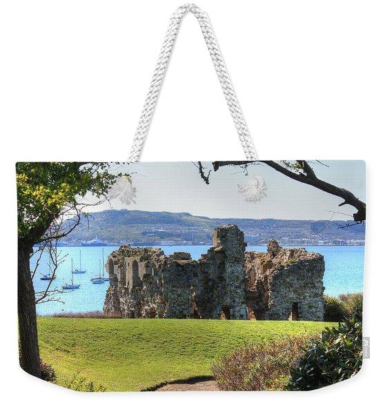 Sandsfoot Castle With Portland Weekender Tote Bag