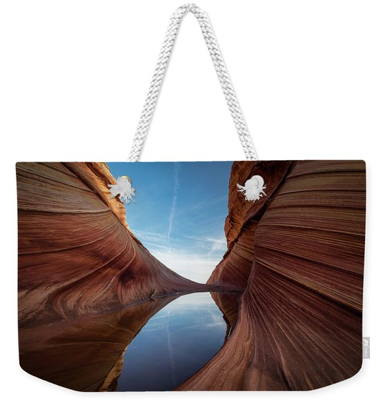 Sandstone And Sky Weekender Tote Bag