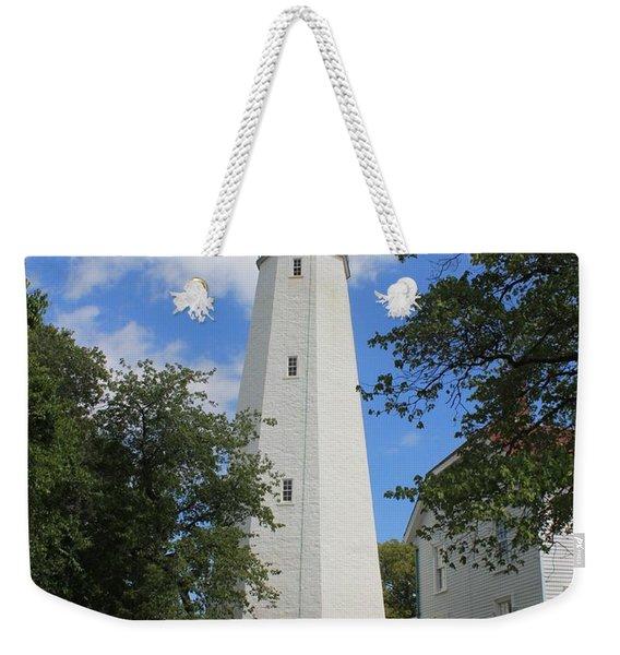 Sandy Hook Lighthouse Tower Weekender Tote Bag