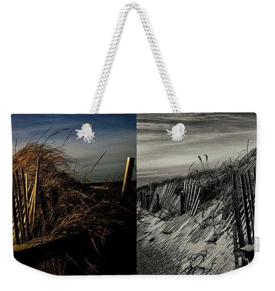 Sandy Neck Dunes Winter Light 2x Weekender Tote Bag