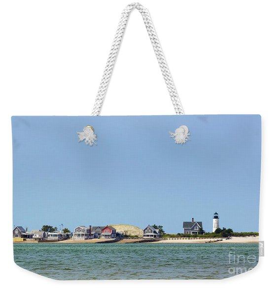 Sandy Neck Lighthouse Sea Livin Weekender Tote Bag