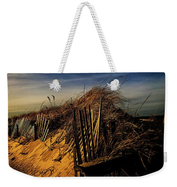 Sandy Neck Winter Light Weekender Tote Bag