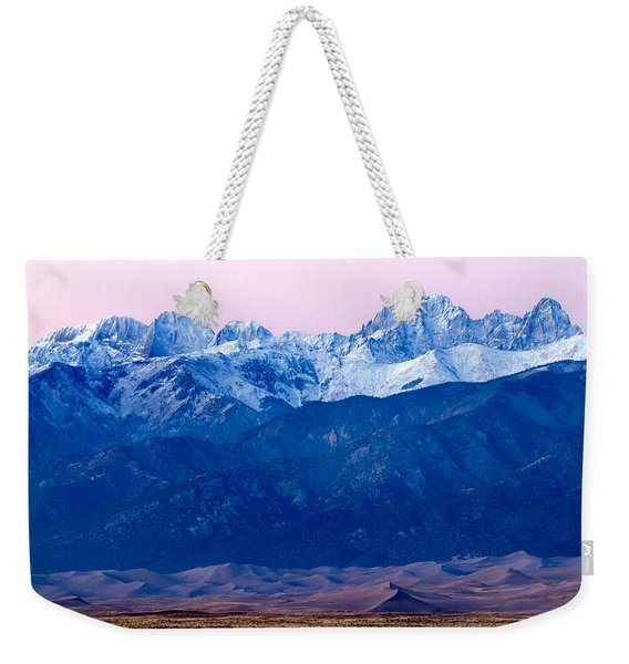Sangre De Christo And The Great Sand Dunes National Park Weekender Tote Bag