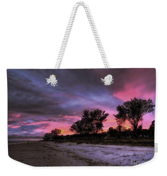 Sanibel Island Twilight Weekender Tote Bag