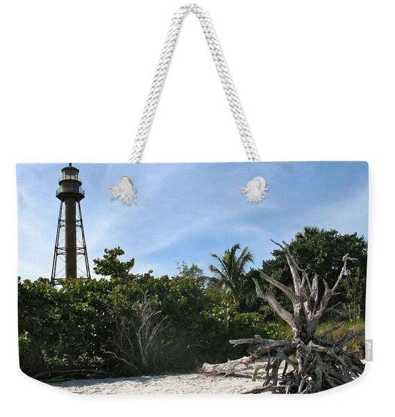 Sanibel Light And Driftwood Weekender Tote Bag