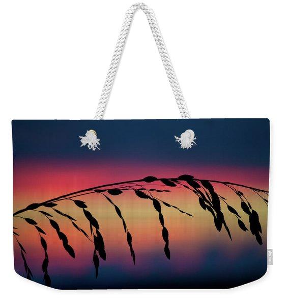 Sanibel Sea Oats Weekender Tote Bag