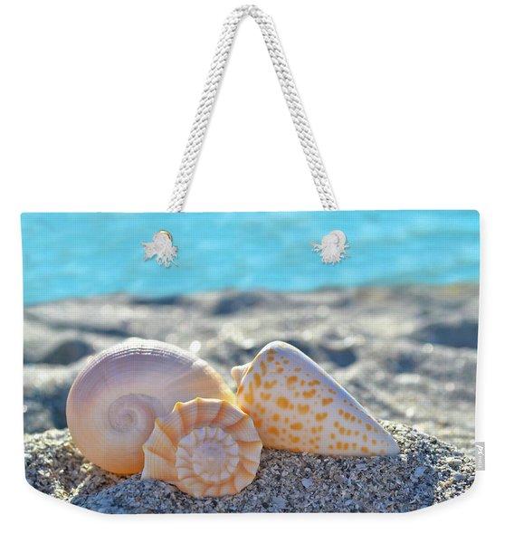 Sanibel Treasures  Weekender Tote Bag