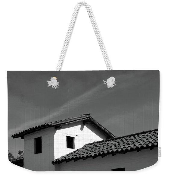 Santa Barbara Presidio 2- Photograph By Linda Woods Weekender Tote Bag