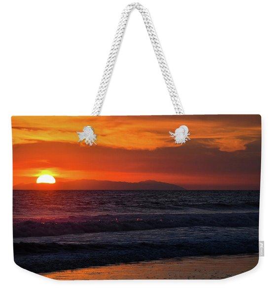 Santa Catalina Island Sunset Weekender Tote Bag